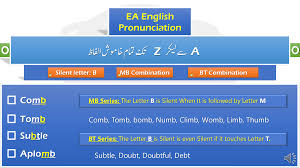 All English Words List With Silent Letters EA English