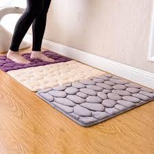 großhandel coral fleece badezimmer memory foam teppich kit wc muster bade anti rutsch matten boden teppichboden set matratze 40 60cm huweilan