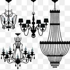 Crystal Chandeliers Elegant Chandelier Large Lamp Gorgeous PNG Image
