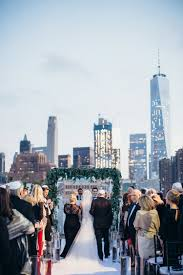 100 Tribeca Rooftops A Glamorous Big Apple Jewish Wedding With A Chuppah Overlooking The