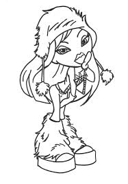 Collection Of Solutions Bratz Coloring Pages Free 2 With Additional Download