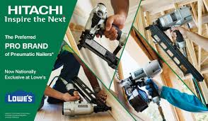 Home Depot Bostitch Floor Nailer by Lowe U0027s And Hitachi Freeze Out Home Depot Tools Of The Trade