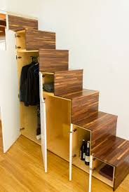 Gorgeous Tiny House Boasts 14 Windows And Nifty Storage Stairs ... Modern Staircase Design With Floating Timber Steps And Glass 30 Ideas Beautiful Stairway Decorating Inspiration For Small Homes Home Stairs Houses 51m Haing House Living Room Youtube With Under Stair Storage Inside Out By Takeshi Hosaka Architects 17 Best Staircase Images On Pinterest Beach House Homes 25 Unique Designs To Take Center Stage In Your Comment Dma 20056 Loft Wood Contemporary Railing All