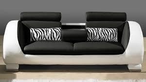 canapé en cuir canapé cuir 3 places au look tendance okyo mobilier moss
