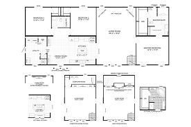 Clayton E Home Floor Plans by Clayton Homes Of Reidsville Nc Floorplan The Carter 76exp28663am