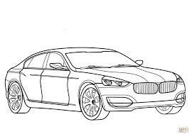 Click The BMW 3 Series GT Coloring Pages