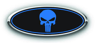 100 Ford Truck Logo FORD PUNISHER DECALS DARKSIDE RACING ART FORD OVERLAY LOGO CUSTOM
