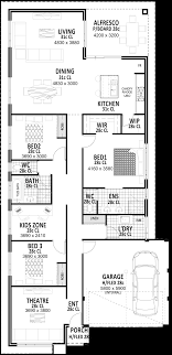 100 10 Metre Wide House Designs 125m Plans Perth Vision One Homes