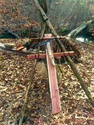 How To Build A Paring Ladder Shaving Horse In The Woods