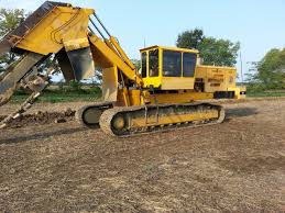 2001 inter drain 3035t chain trencher port industries inc