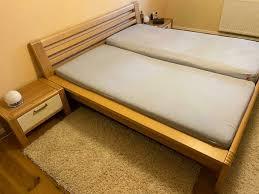 segmüller design schlafzimmer komplett buche teilmassiv zerlegt