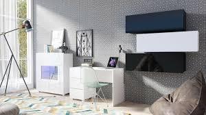 kommode greta mit led beleuchtung modern highboard wohnzimmer design hochglanz