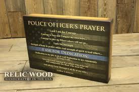 Police ficers Prayer Wall Art