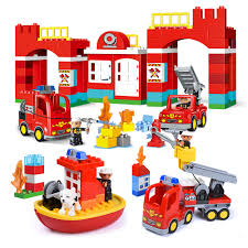 Big Blocks City Fire Station Building Blocks Set Compatible Legoed ... Lego Duplo Fire Truck 10592 Itructions For Kids Bricks Lego Duplo Fire Station Truck Police And Doctor Set Lot Myer Online Station 6168 4 Variants Of Building Unboxing Duplo 10593 Toysrus Australia Official Site Search Results Shop City Box Opening Build Play 60002 Baby Pinterest Trucks Disney Pixar Cars 6132 Red The Youtube Town Walmartcom Amazoncom Legoville 4977 Toys Games