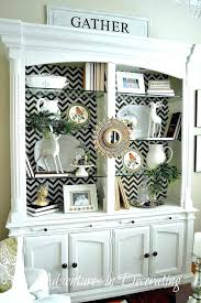 Dining Room Hutch Decor Ideas Decorating Best China On Cabinet Pertaining Home Decoration Games