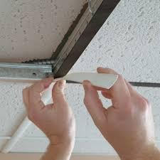Polystyrene Ceiling Tiles Bunnings by Painting Ceiling Tile Grid Lader Blog