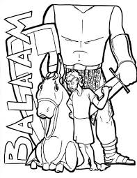 Sale Balaam Coloring Page