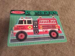 Find More Melissa And Doug Firetruck Sound Puzzle For Sale At Up To ... Sound Puzzles Melissa Doug 3d Stacking Emergency Vehicles Refighter Truck Melissa And Doug Kids Play Pretend Toys Dillards Around The Fire Station Puzzle R Us Canada Solar System Space Radar Find More And Firetruck Makes Noise For Sale Doug Wooden Fire Games Compare Prices The At John Lewis Partners Disney Baby Mickey Mouse Friends Wooden Truck 100 Pieces Ktpuzz9 Colorful Fish Peg Personalized Miles Kimball Memtes Electric Toy With Lights Sirens Sounds