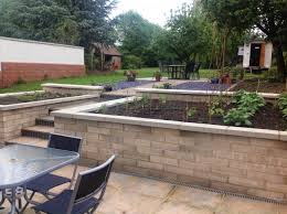 100 Davies Landscaping Riseley Eco Cottage Rear Garden And Hard