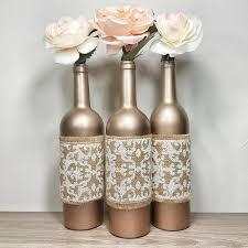 Wine Bottle Decor Bottles Decorated Vase