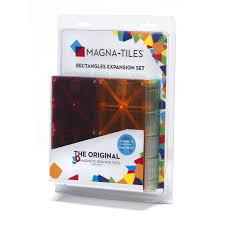 buy magna tiles 15816 rectangles expansion set multi color 8