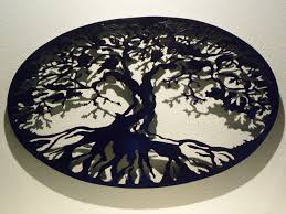 Hobby Lobby Wall Decor Metal by Buy A Custom Oval Tree Of Life Metal Wall Art Made To Order From