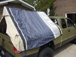 100 Truck Bed Tent 16 Pvc Lightweight Popup Camper Pirate4x4Com 4x4