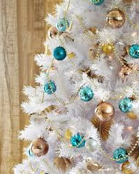 Beautiful Accessories For Christmas Decoration Using White Tree Ideas Killer Home
