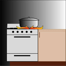 Flames Clipart Stove Fire Pot On Big Image Png Transparent Library