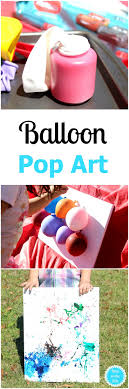Balloon Pop Art Is A Fun Craft For Kids This DIY Project Makes