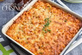 recette de pate au thon gratin de pates au thon amour de cuisine