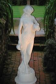 details zu wasserträgerin skulptur statue frau garten badezimmer deko garten figur 0003