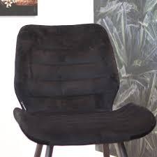 bronx71 esszimmerstuhl samt toby modern schwarz