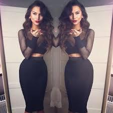 The Fashion Gorgeous Dress Black Fur Summer Outfits Teen Cute