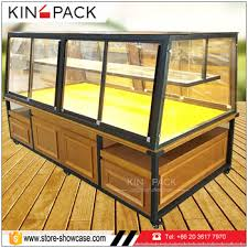 China Factory Customized Bakery Display Cases Non Refrigerated Food Cabinets For Sale