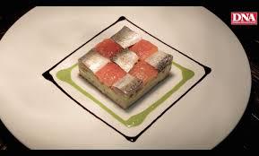 recette cuisine gastro recette le damier de sardines marinées tomate avocat coulis