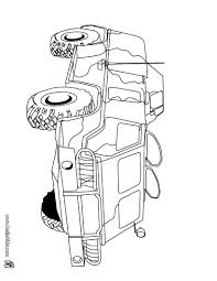Fighter Combat Car Coloring Page