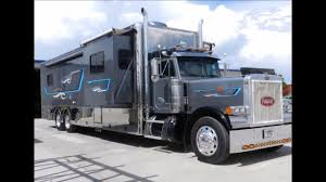 100 Semi Truck Motorhome 2008 Custom Diesel Peterbilt RV For Sale YouTube