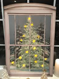 Spiral Christmas Tree Lighted by Sparkling Christmas Tree Lighted Canvas U2013 Lisa Robertson