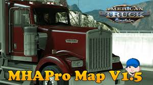 100 Truck Simulation Games American Simulator MHAPro Map V 1 5 Episode 1