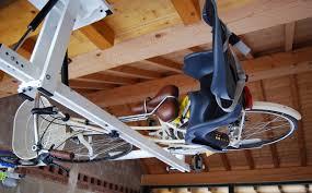 Ceiling Bike Rack Flat by Ceiling Overhead Bike Rack For City Bike Flat Bike Lift
