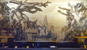 Diego Rivera Rockefeller Mural by Roadboys Travels A Rainy Weekend In New York City