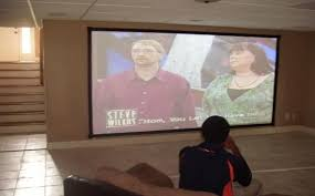 projector and projector screen installation by ihangtvs com alabama