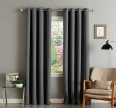 Gray Sheer Curtains Bed Bath And Beyond by Having Interior Design With Full Of Comfort By Blackout Curtains