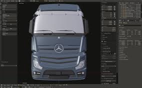 SCS Software's Blog: Mercedes-Benz New Actros Work In Progress