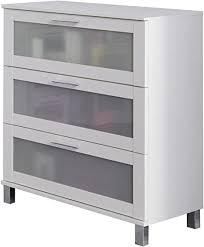 trendteam smart living badezimmer schrank kommode orlando 70 x 89 x 41 cm in weiß mit schubkästen und viel stauraum