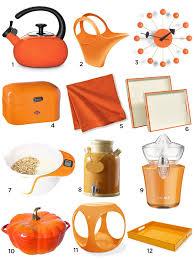 Orange Kitchen And Dining Accessories