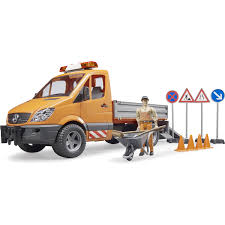 Bruder MB Sprinter Municipal Vehicle, Driver And Accessories - Buy ...