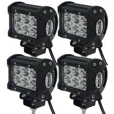 4pcs 12V/24V 18W Led Work Light 18W Cree LED Offroad Led Light Bar ... China High Intensity Bridgelux Led Truck Work Light Gf006z03 Pair Of New 7x6 54w Led Headlight Square Car Small 26 10w Offroad Auto Lamp Suv 700lm 240w Bar Boat Tractor 4x4 4wd Suv Lights For Trucks Jinchu Work Light Halogen Offroad Atv Truck Quad Flood Lamp 18w 6x 5 Inch 45w 3300lm 15x Leds Dc 1030v 4wd 7inch Spot Beam 36w Trucklites Signalstat Line Now Offers White Auxiliary Lighting 2pcs 10w Motorcycle Bicycle Spot 30 Degree Amazonca Accent Off Road