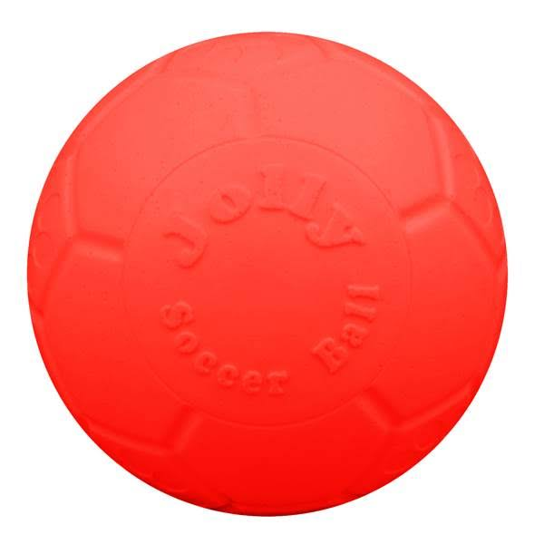 Jolly Pets Soccer Ball - Orange, Large/XLarge, 8in
